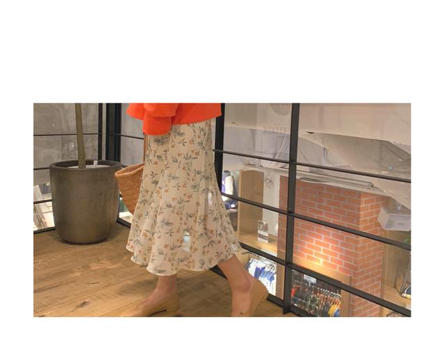Raglas Chiffon Skirt