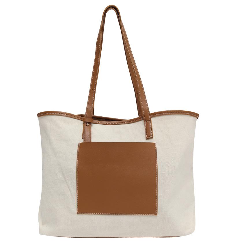 Pocket canvas big bag_J