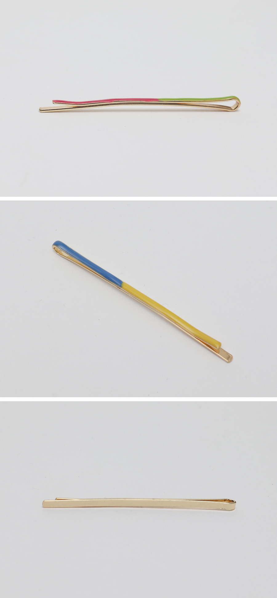 Combo color hair-pin_Y