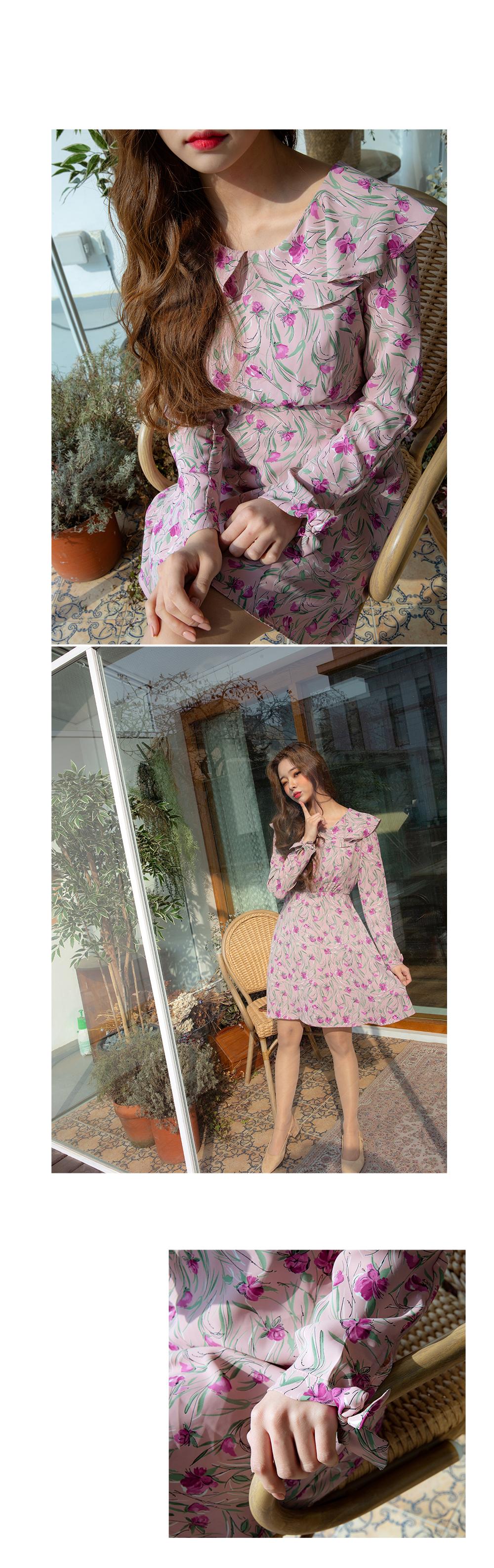 Erica Flower Dress