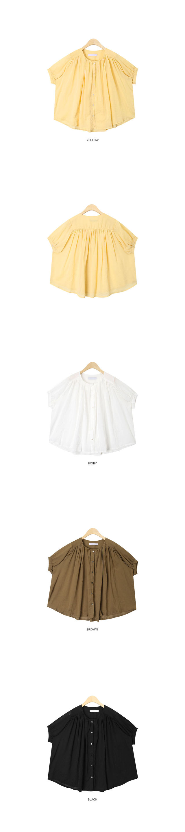 Isabel pleats blouse