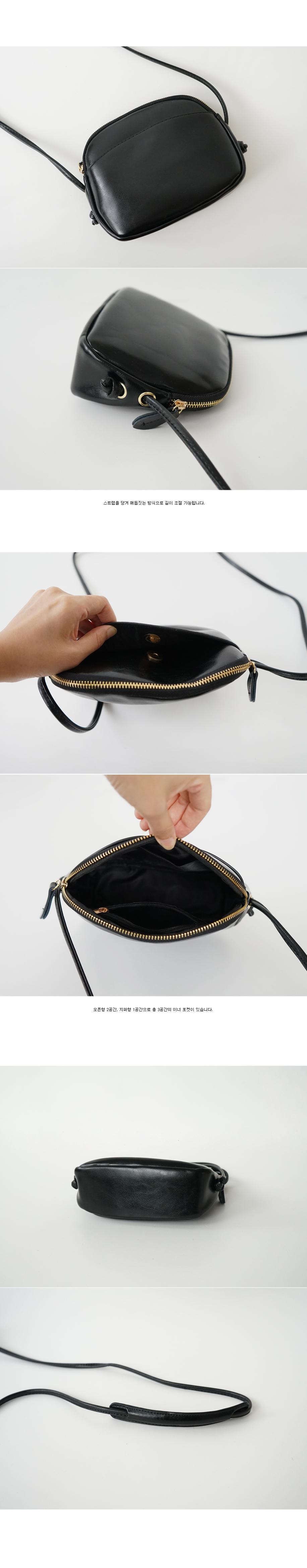 knot strap cross bag (3colors)