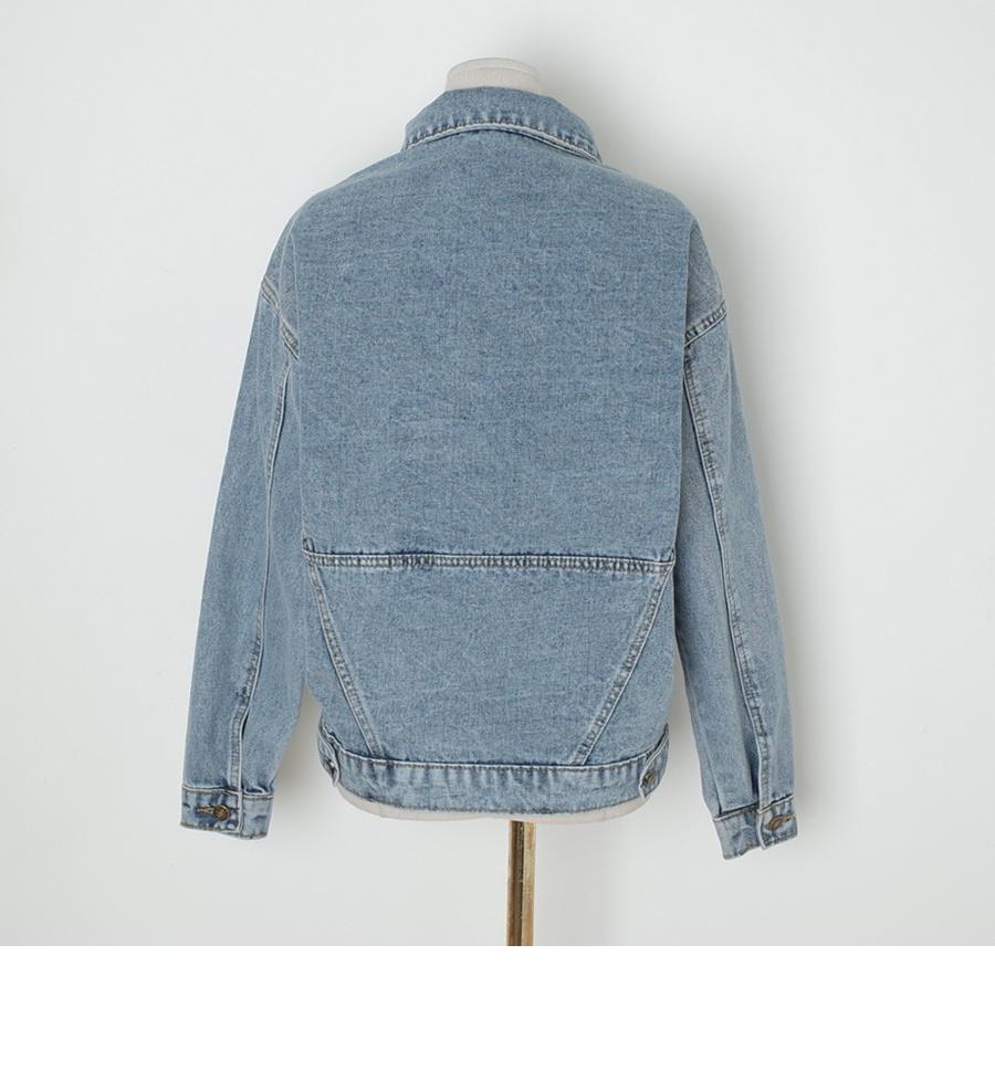 Thebig denim jacket