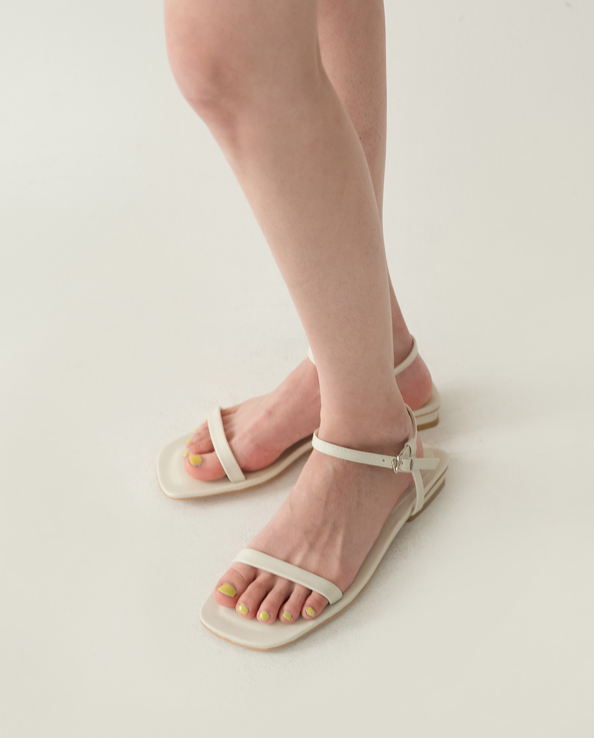 neat thin strap sandal