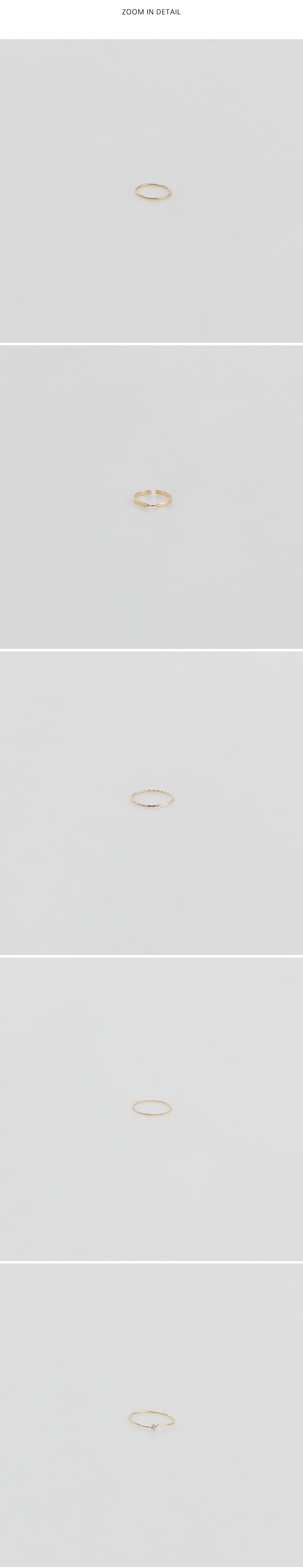 easy layered ring set