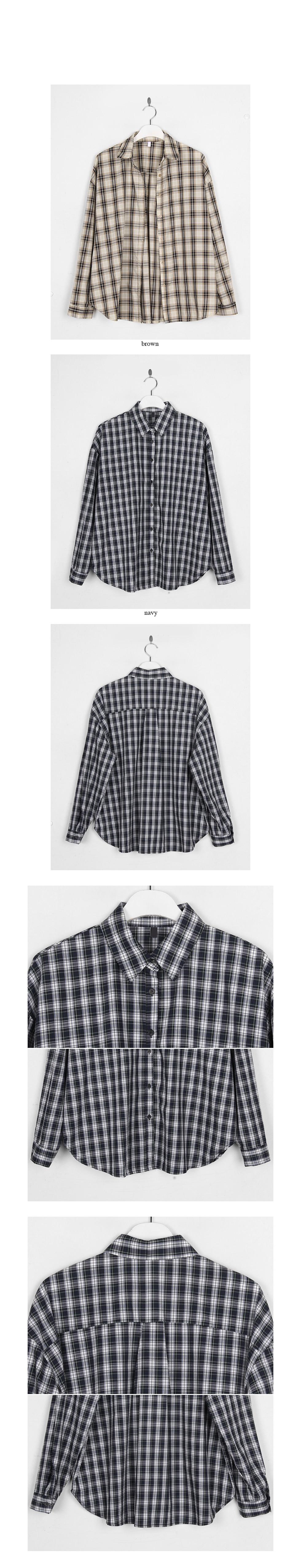 lazy check shirt
