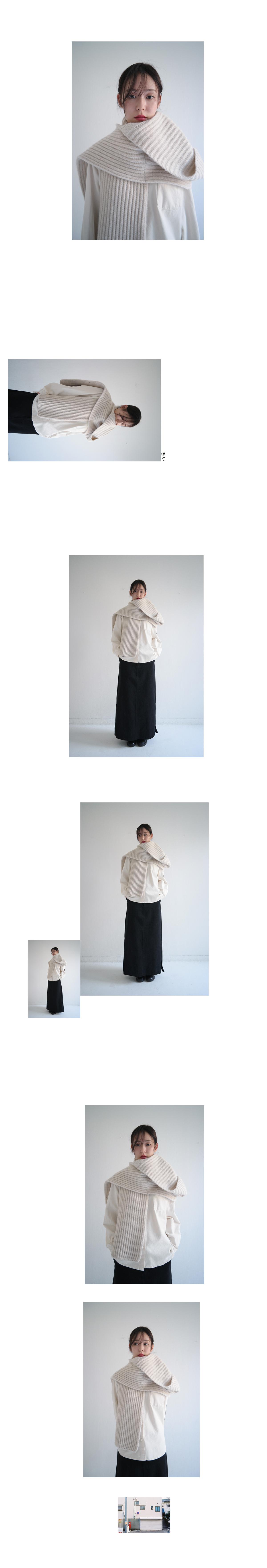 elbow patch cotton shirt (2colors)