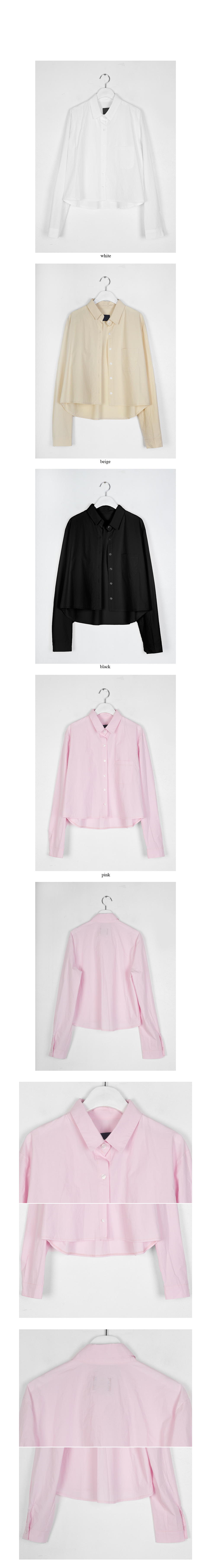 usually crop cotton shirt