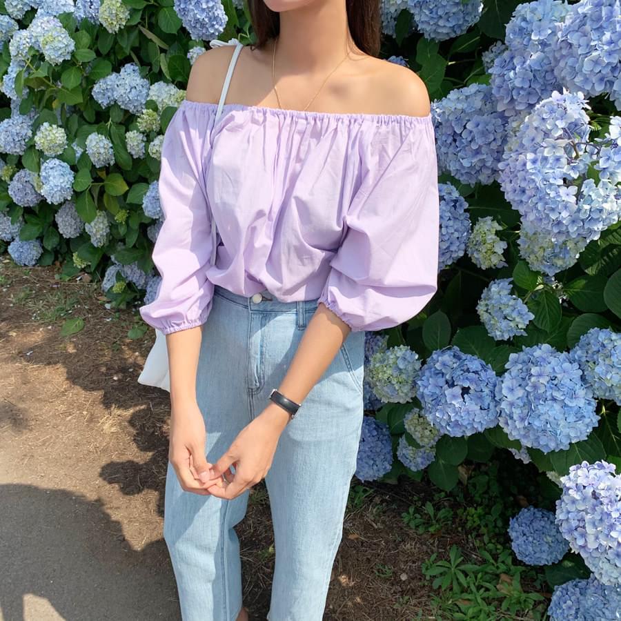 Jasmine off blouse