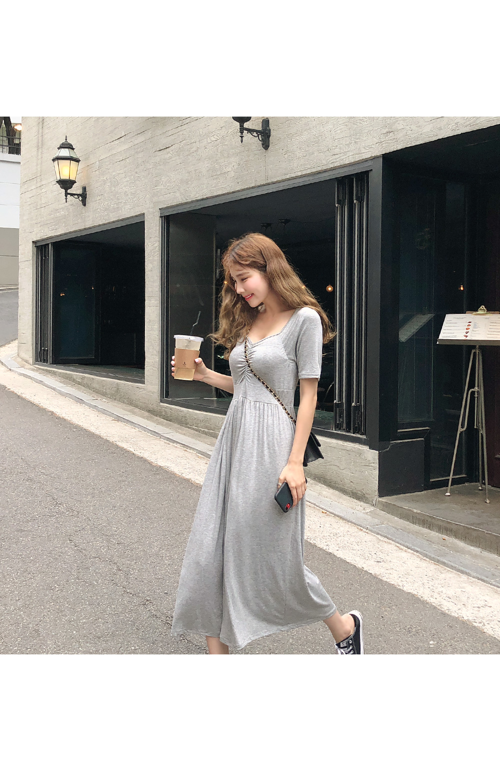 Shearing aura dress