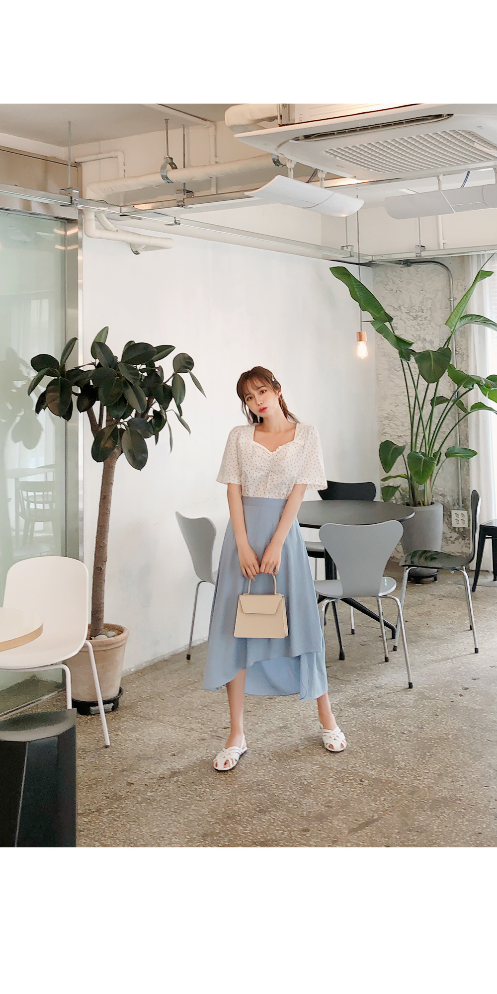 Cute blueberry blouse