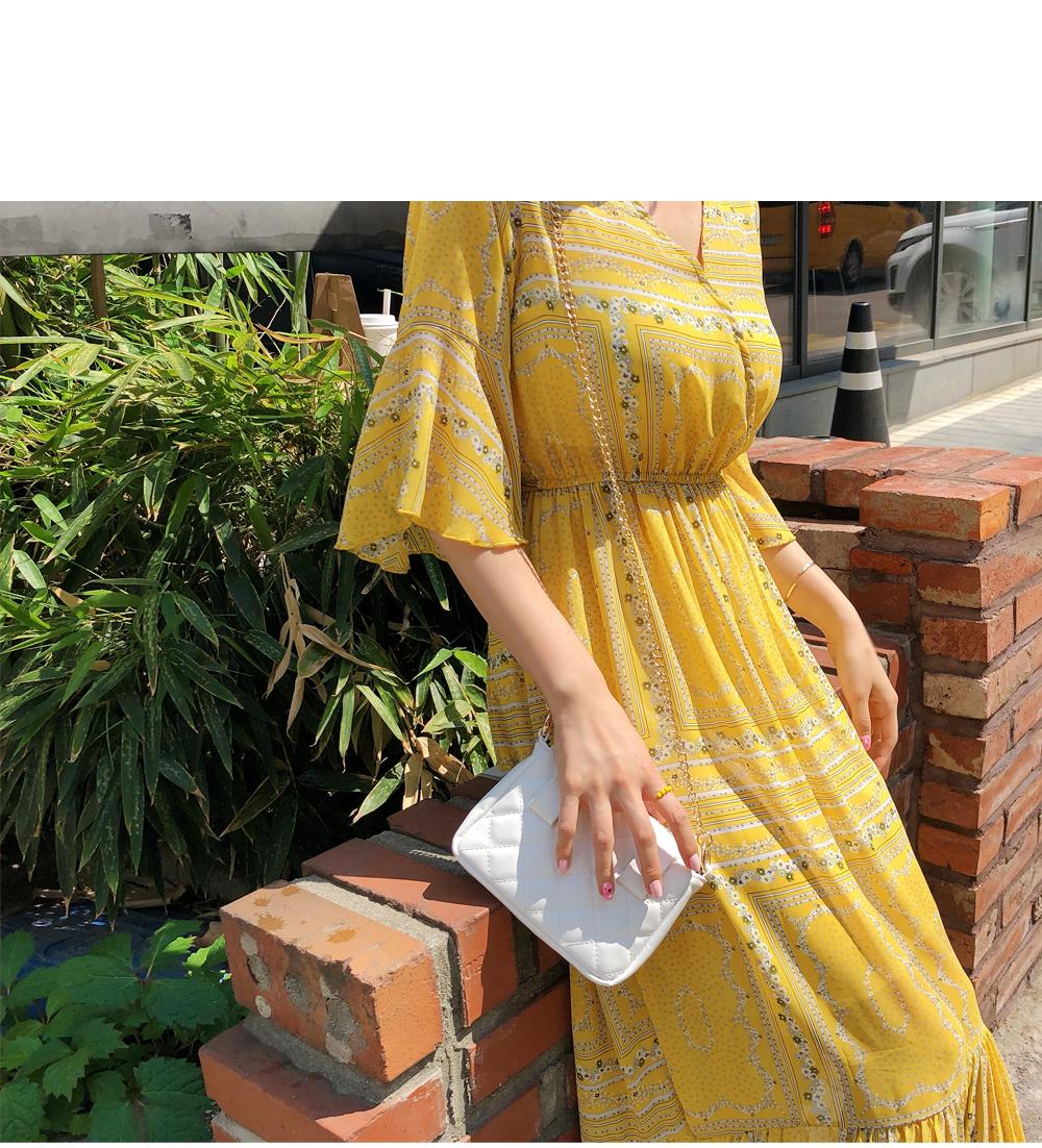 Aurora Yellow Dress