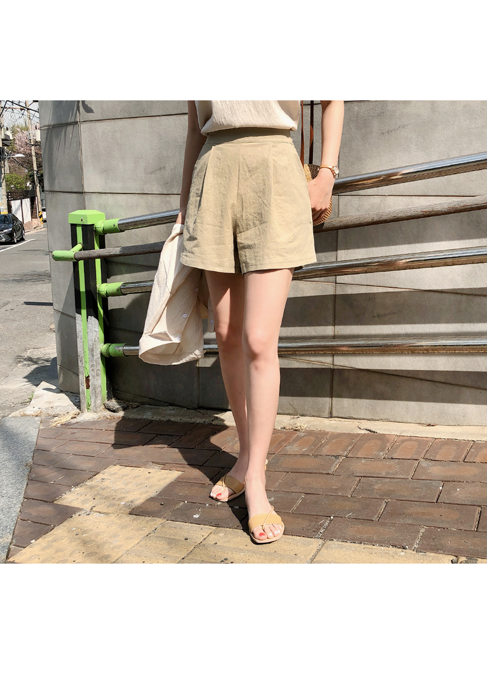 Linen Bending Pants