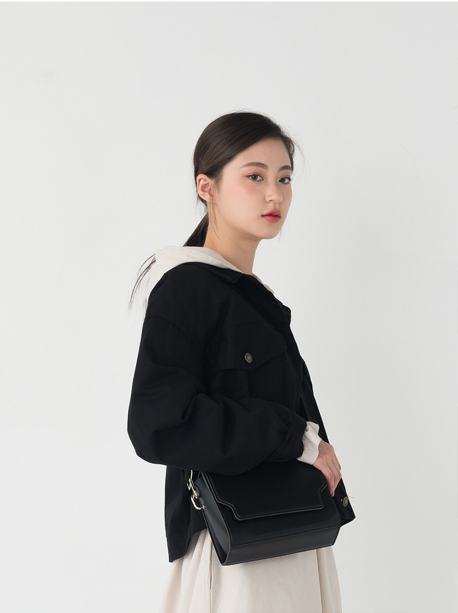 classic square shape bag