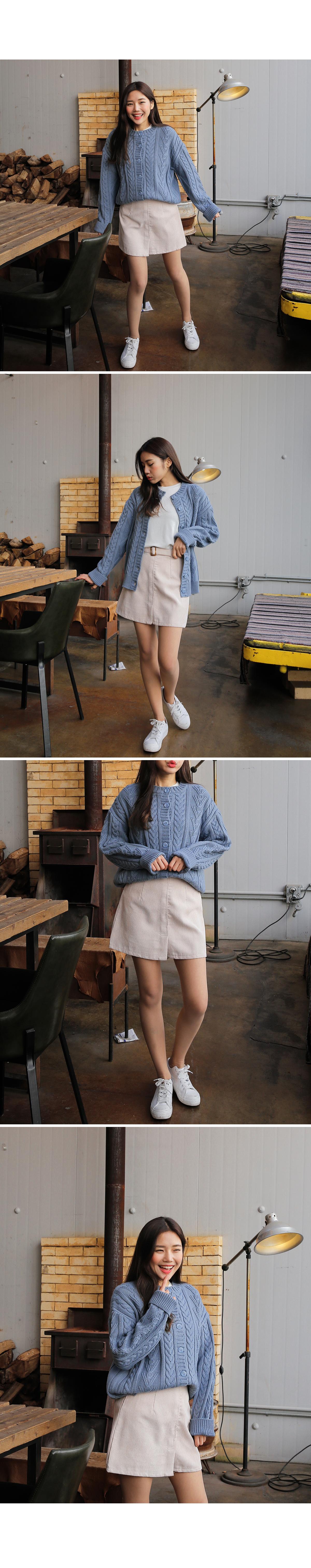 Mini-twist cardigan