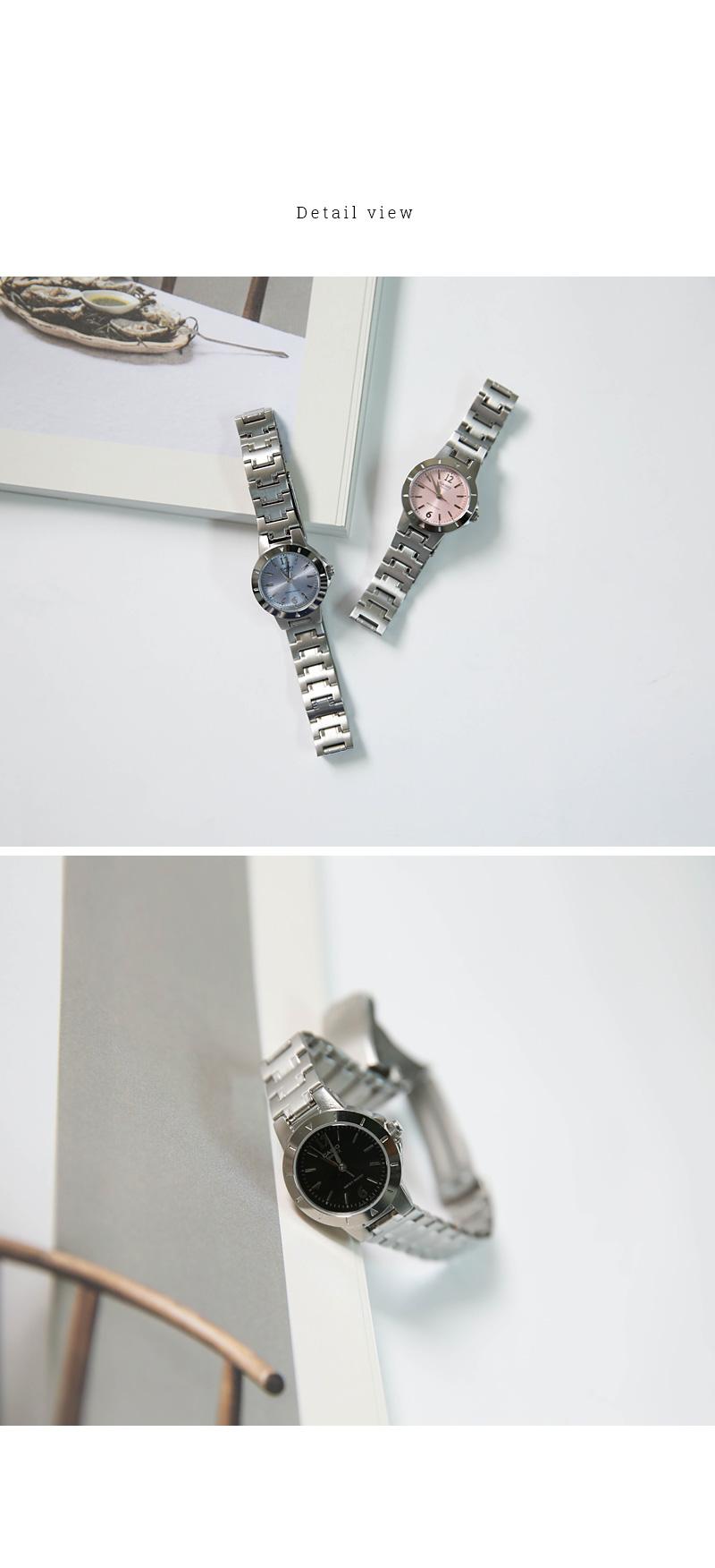 Casio Round Metal Watch