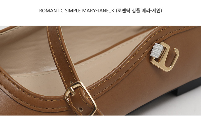 Romantic simple mary-jane_K