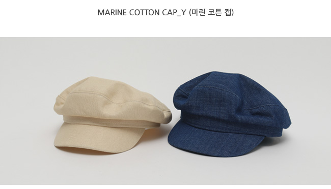 Marine cotton cap_Y