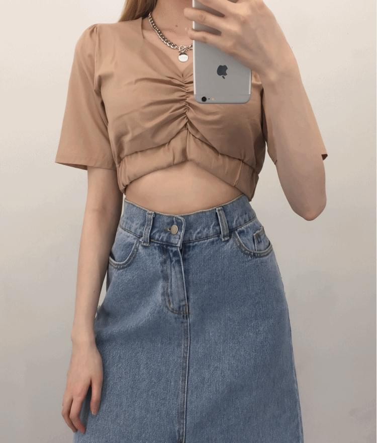 Cropshed blouse
