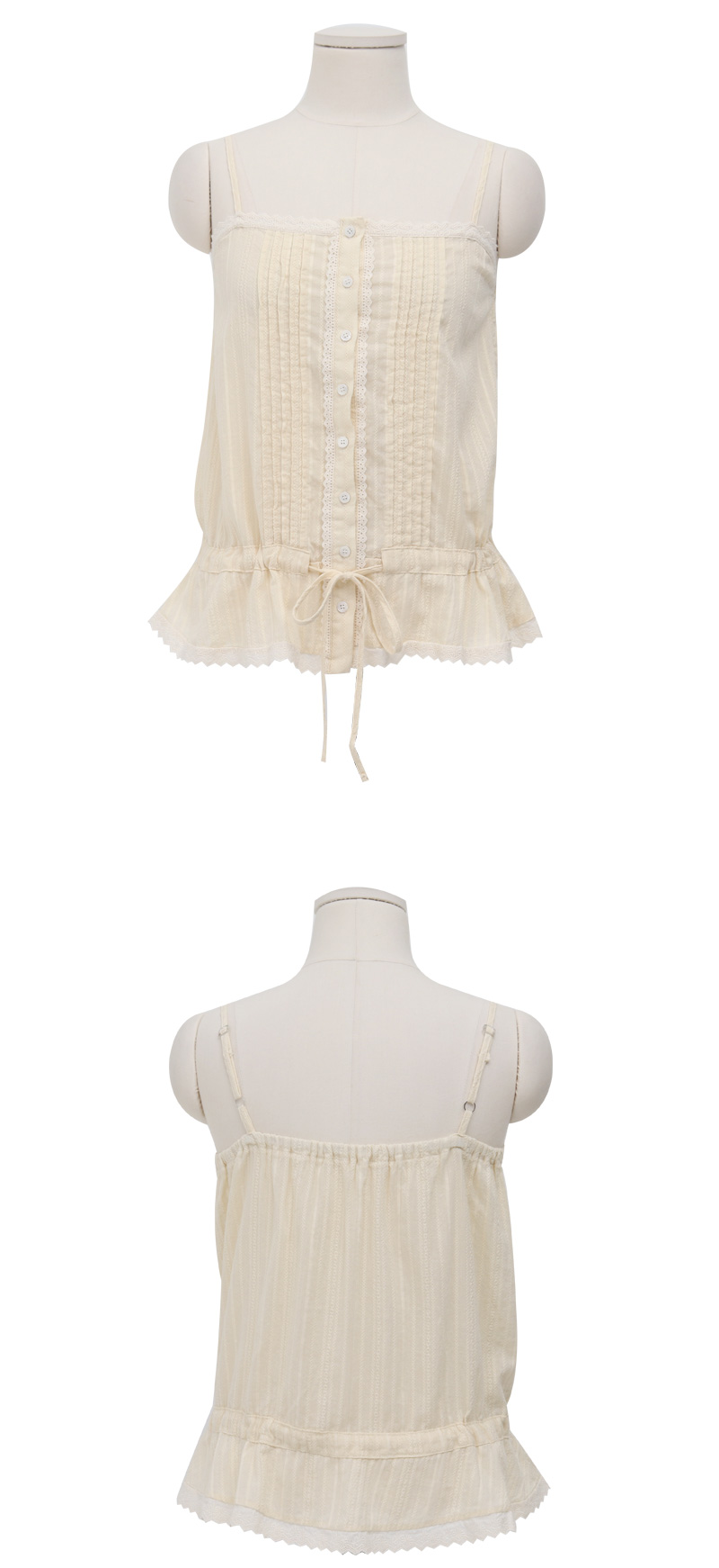 Dolls lace sleeveless top_Y