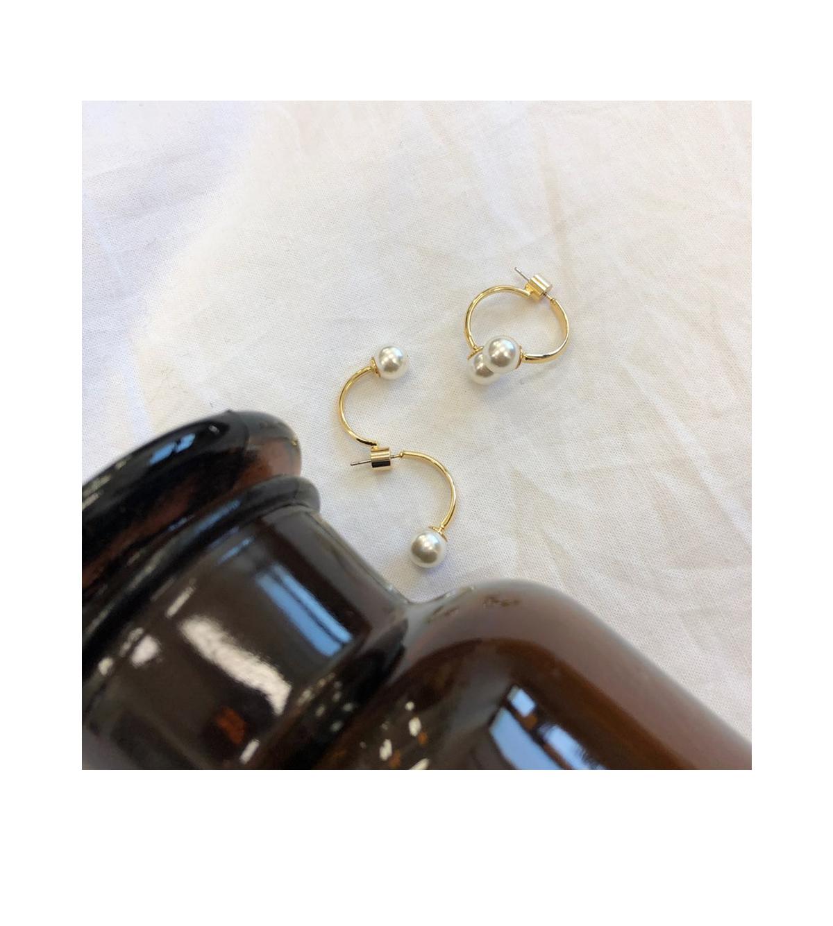 Pearl Ring Earrings