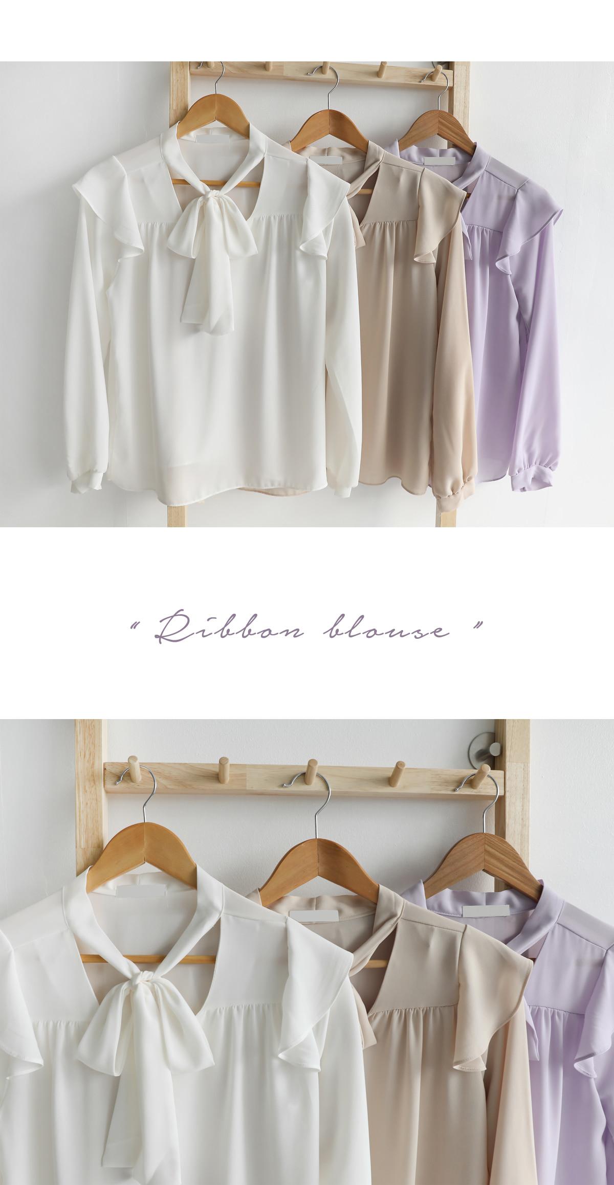 Stell Ribbon Blouse