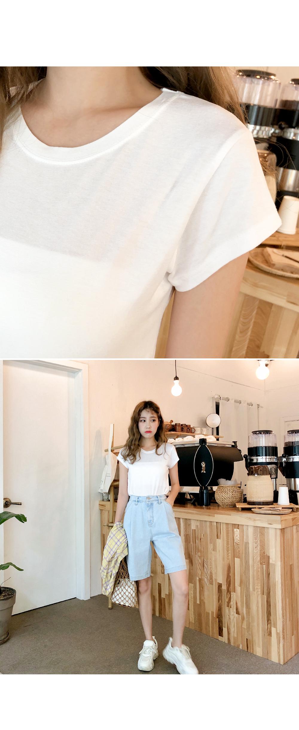 Cap Sleeve Style Tee