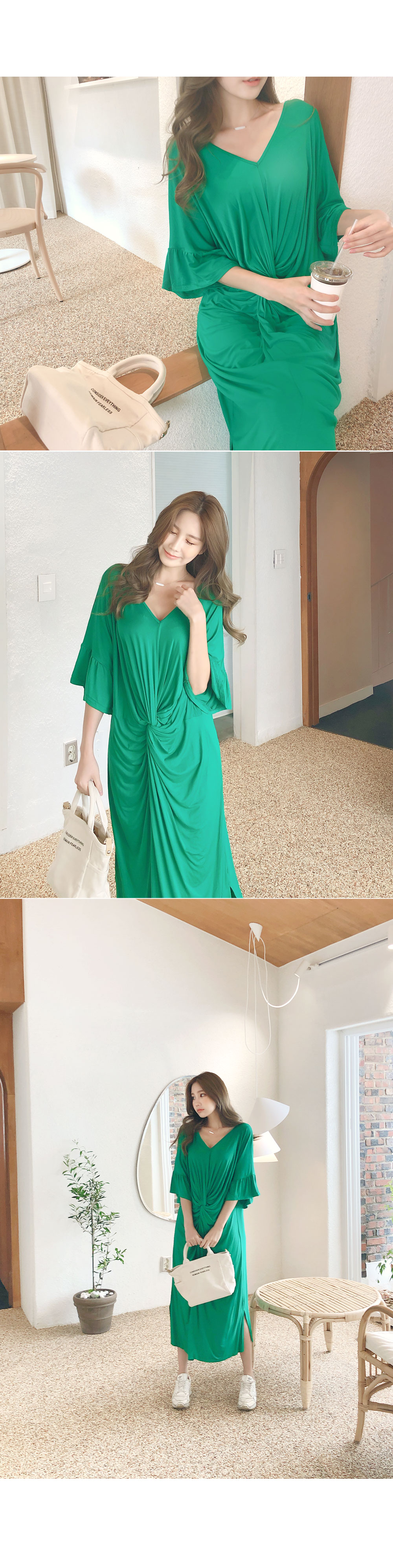 Loose Piece Twist Dress