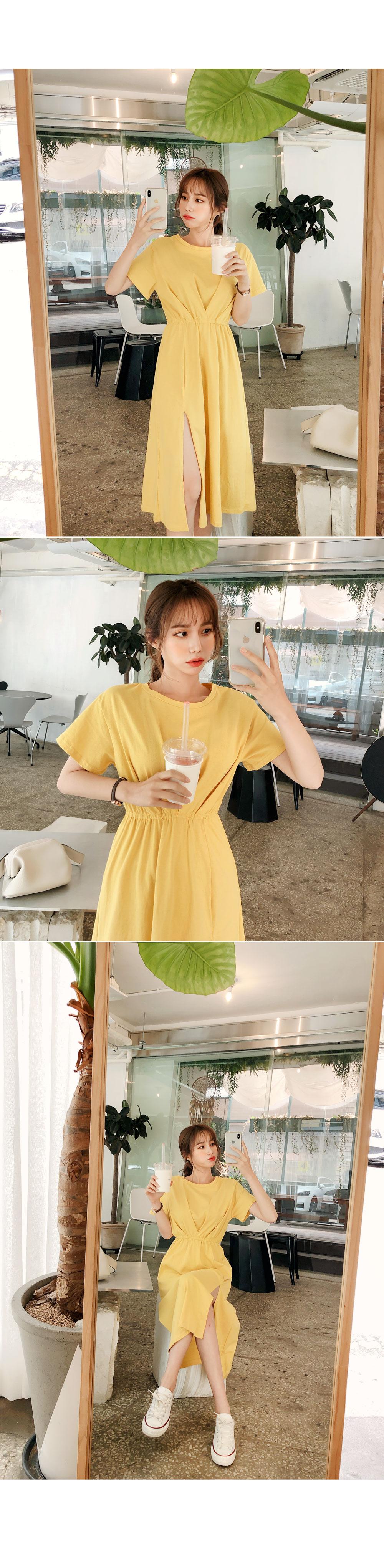 Unique Slit Dress