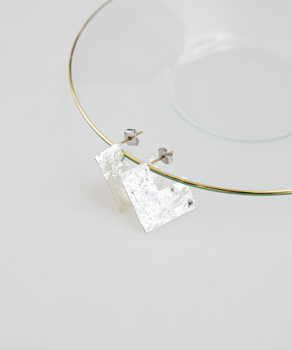 chic mood square earring