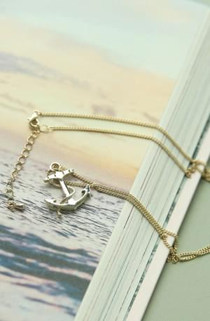 Anchor Long Necklace