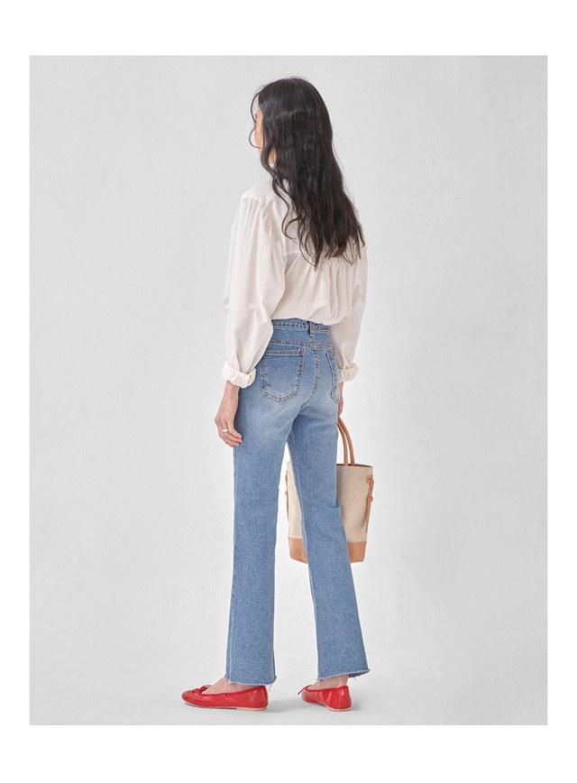 well slim boots cut pants