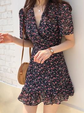 Rose Bebe Chiffon Dress