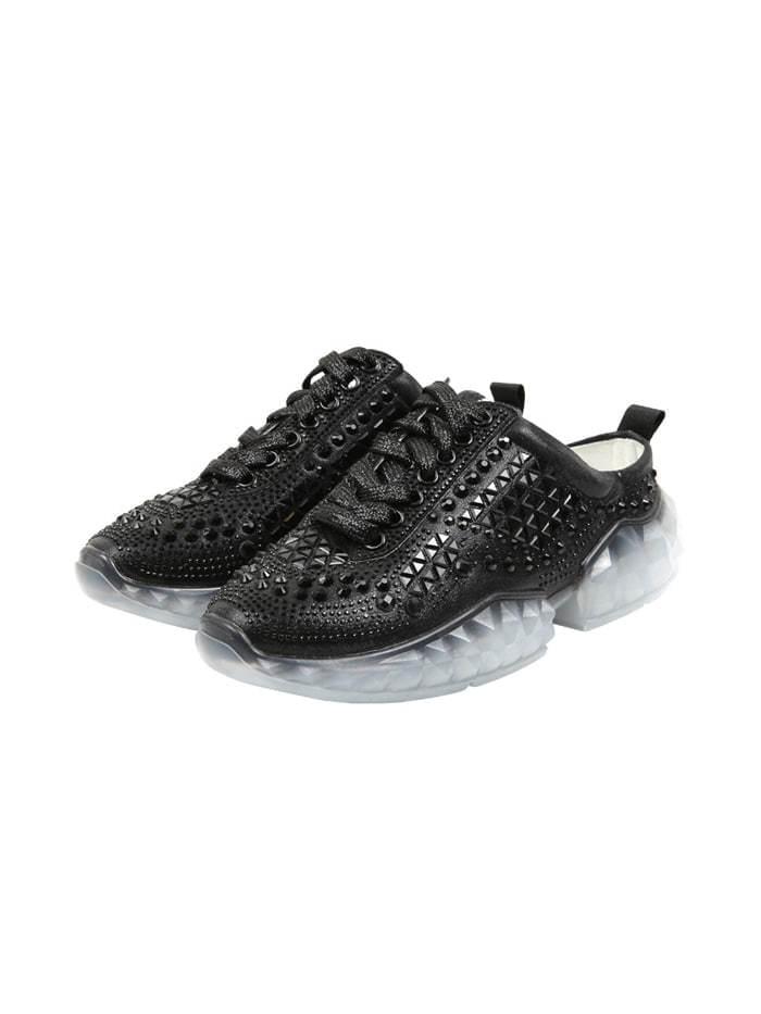twinkle beads mule sneakers