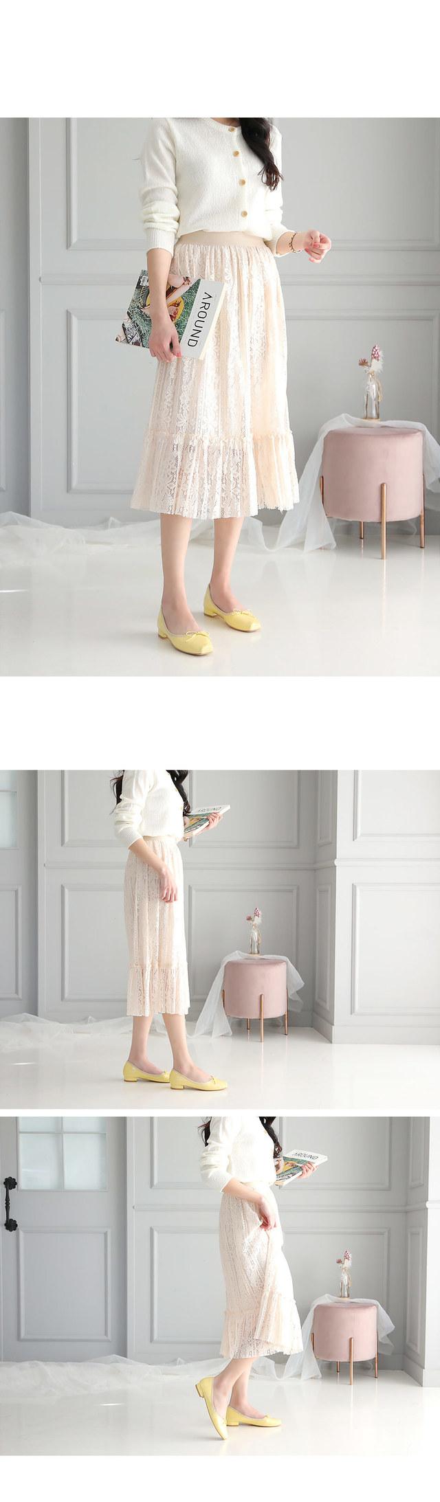 Denas Flat Shoes 2cm