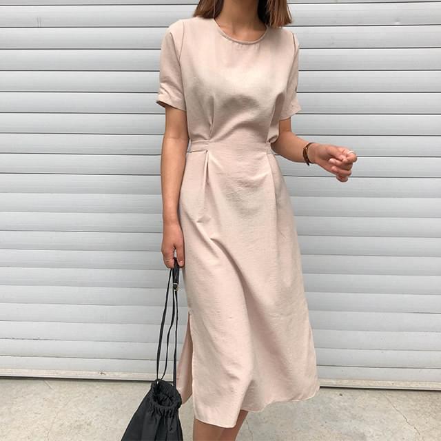 Square Irene Long Dress