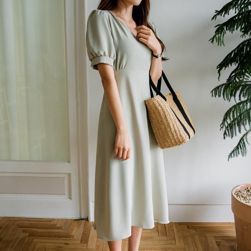 Shasha Puff Dress