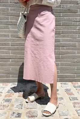 Haim Linen Top Long Skirt