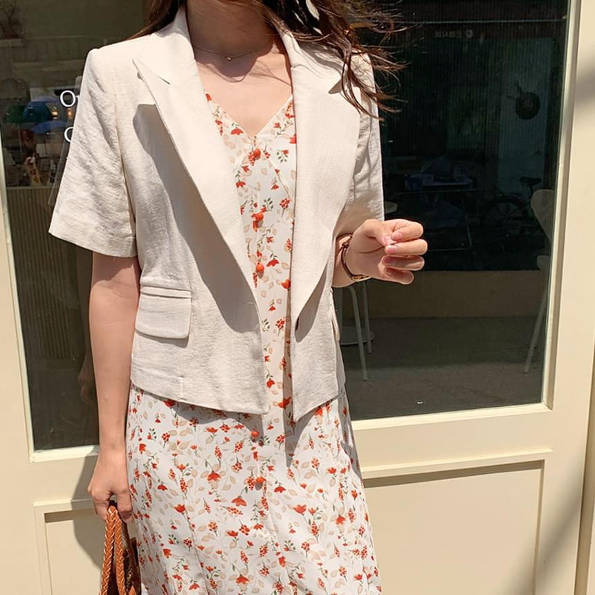 Linen Fresh Short Sleeve Jacket