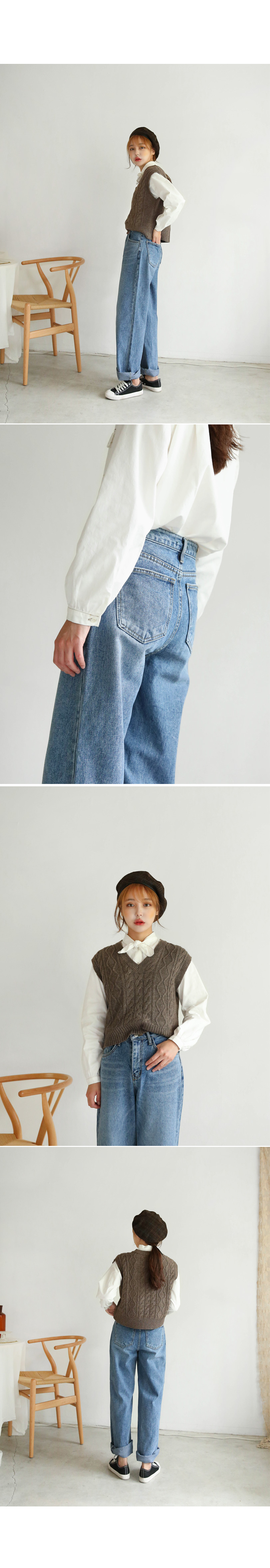 Wellington Boyfit denim pants