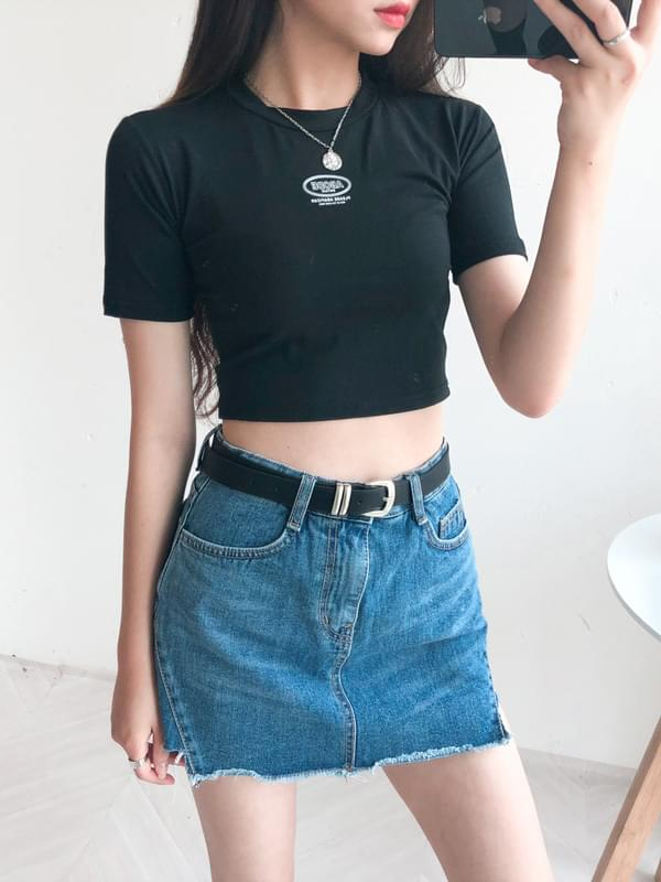 ABODE Cropped Tee