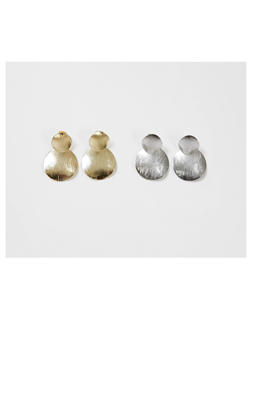Linda Circle Earrings