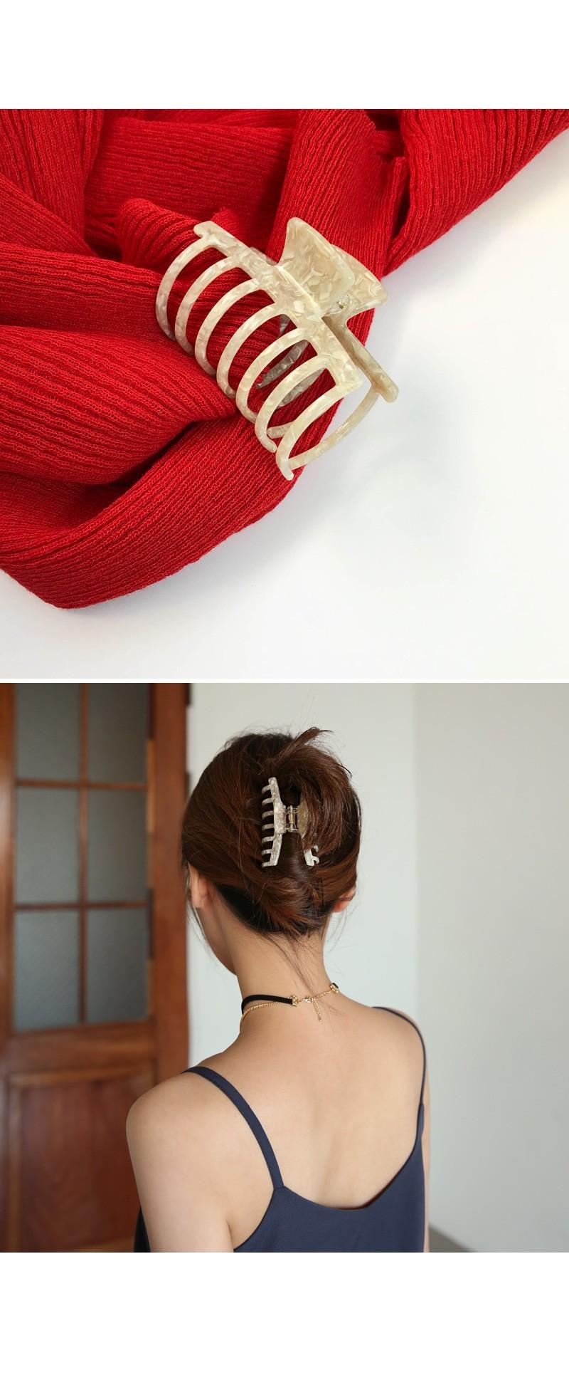 Ivory Hair Clip
