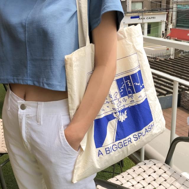 pool graphic eco bag