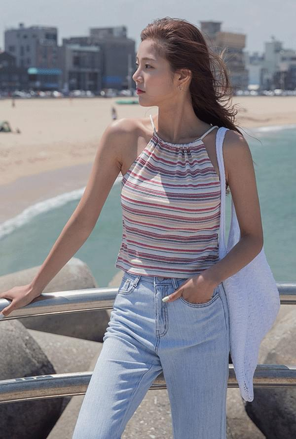 Stripe Holter Sleeves