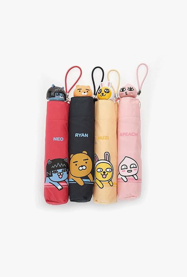 정품 카카오프렌즈 3단 우산
