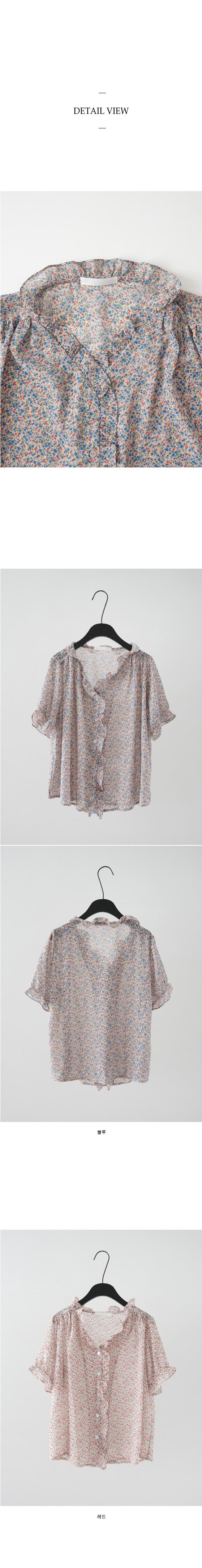 floaty flower blouses