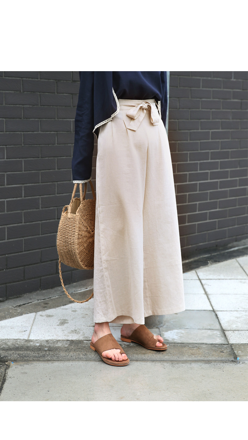 Organic Thai Linen Slacks