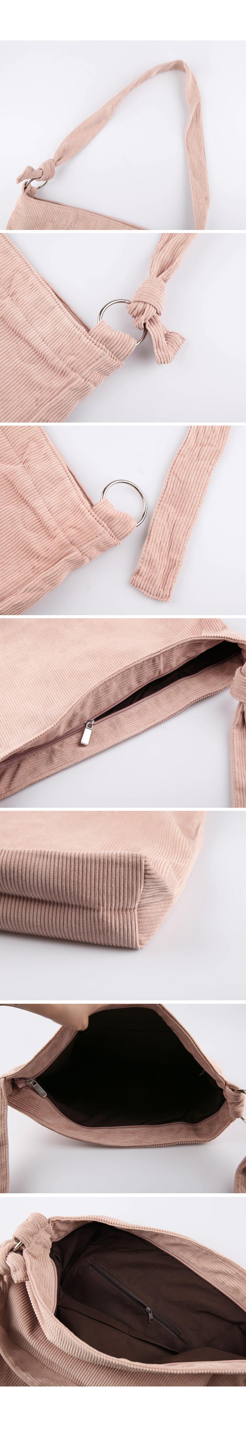 Corduroy Cross Bag