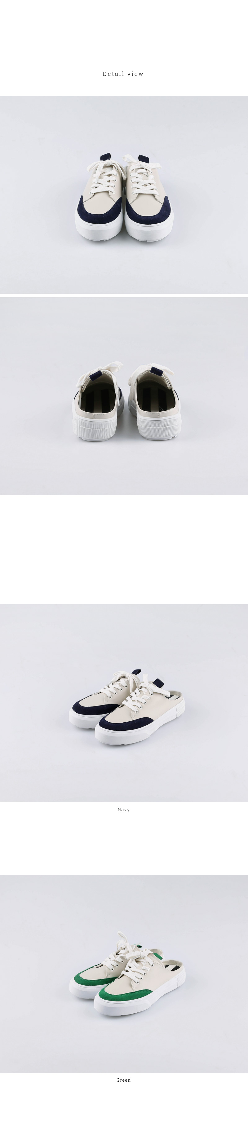Color Sneakers Slippers